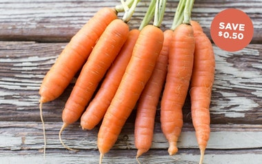 Organic Bunched Carrots