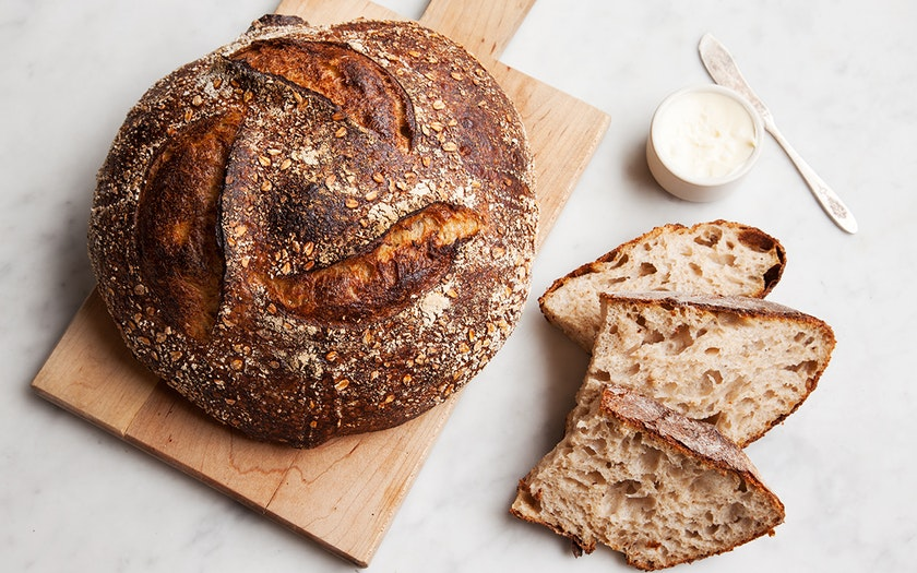 Tartine Oat Porridge Bread
