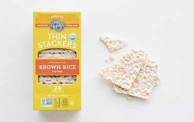 Organic Salt-Free Brown Rice Thin Stackers