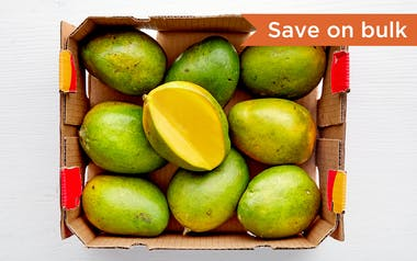 Case of Organic California Keitt Mangoes
