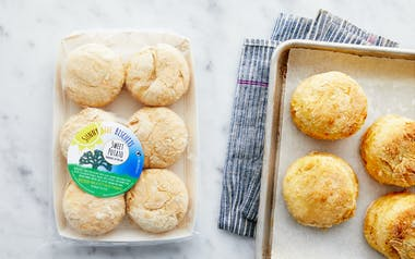 Sweet Potato Biscuit Dough