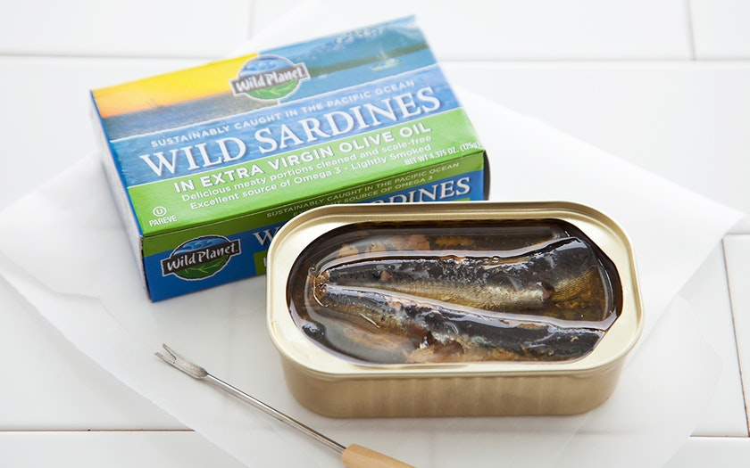 Wild Pacific Sardines in Extra Virgin Olive Oil