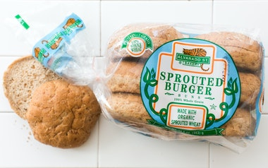 Sprouted Wheat Hamburger Buns