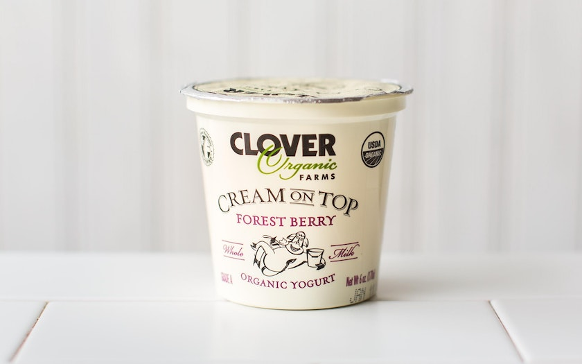 Organic Cream On Top Forest Berry Yogurt