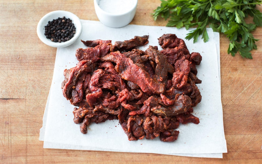 Grass-fed Seasoned Fajita Meat (Frozen)