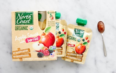 Organic Berry Applesauce Pouches