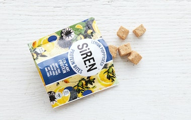 Lemon Poppyseed Protein Bites