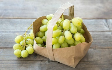 Organic Princess Seedless Grapes
