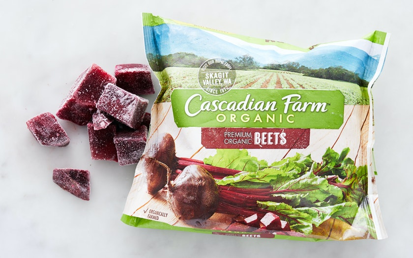 how to cook frozen beets