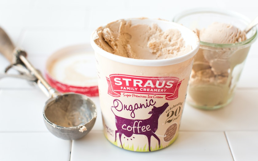 Organic Coffee Ice Cream