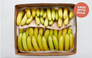Case of Organic Bananas