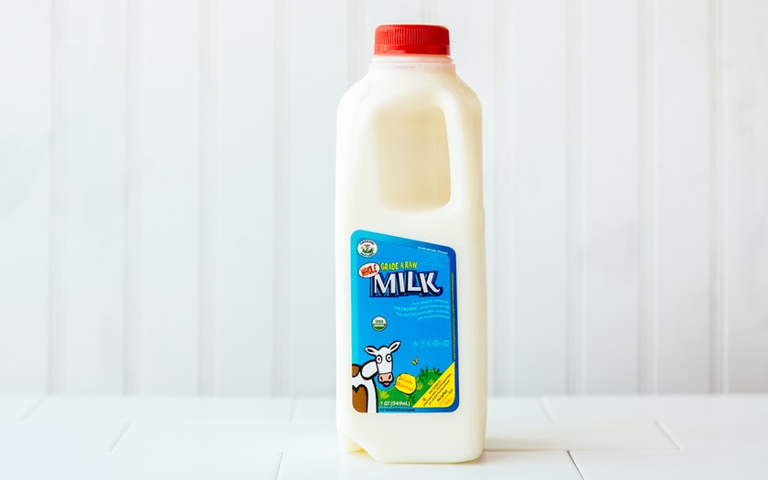 Organic Whole Raw Milk