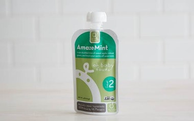 Organic AmazeMint Baby Food Puree (Level 2)