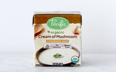 Organic Cream of Mushroom Condensed Soup