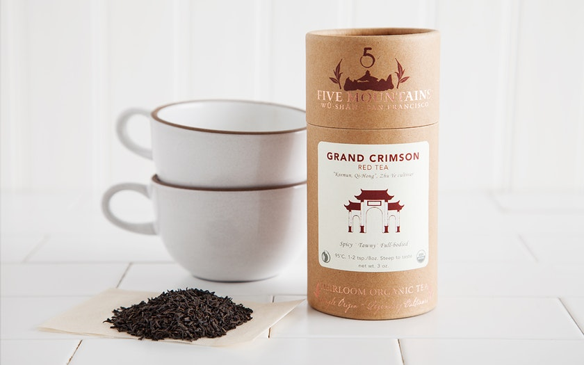 Organic Grand Crimson Loose Tea