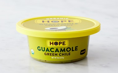 Organic Spicy Green Chile Guacamole