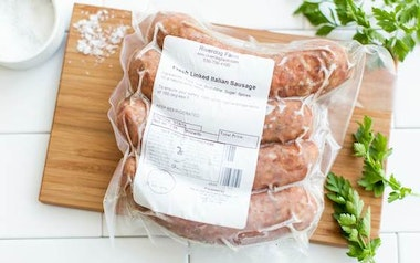 Pasture Raised Spicy Italian Pork Sausage (Frozen)