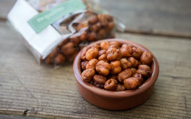 Spiced Crispy Chickpeas
