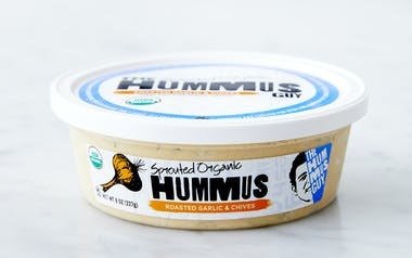 Organic Garlic & Chives Hummus