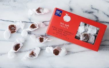 Red Rose & Cocoa Nib Apple Cider Caramels