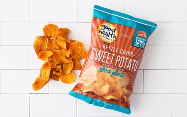 Sea Salt Sweet Potato Kettle Chips