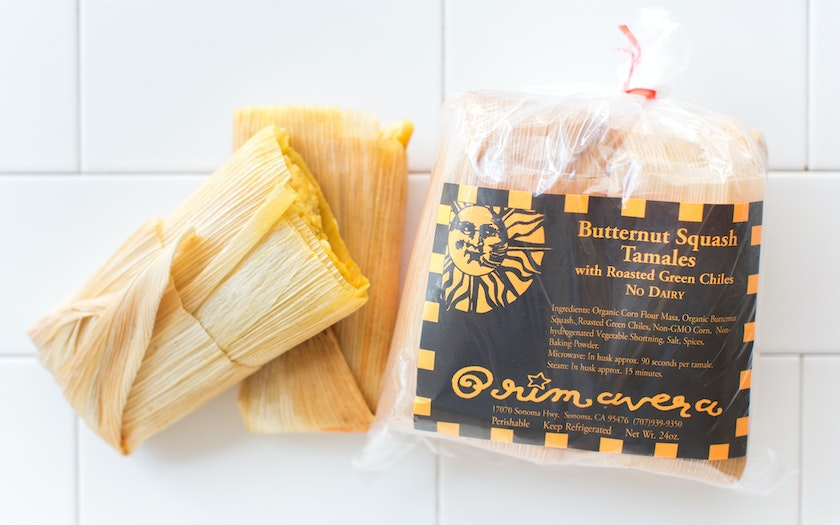 Butternut Squash Tamales (Dairy Free)
