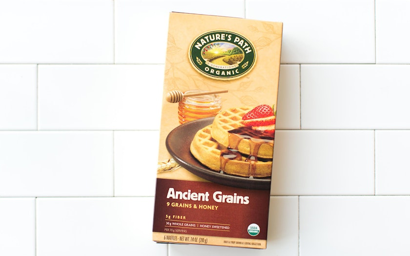 Ancient Grains and Honey Waffles