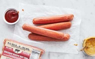 Rustic All Beef Jumbo Hot Dog (Frozen)