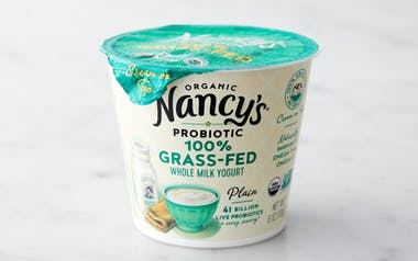 Organic Grass-Fed Whole Milk Plain Yogurt