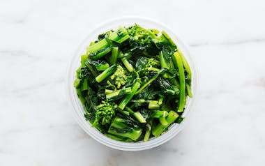 Sautéed Greens with Chili and Garlic