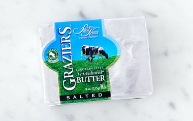 Graziers Salted Grass-Fed Butter