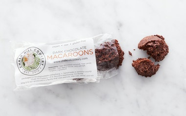 Vegan Dark Chocolate Macaroons