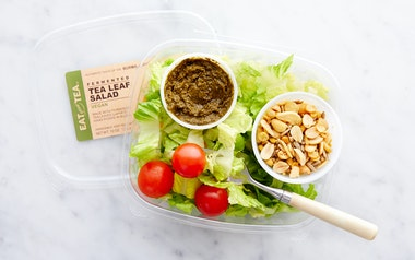Vegan Tea Leaf Salad