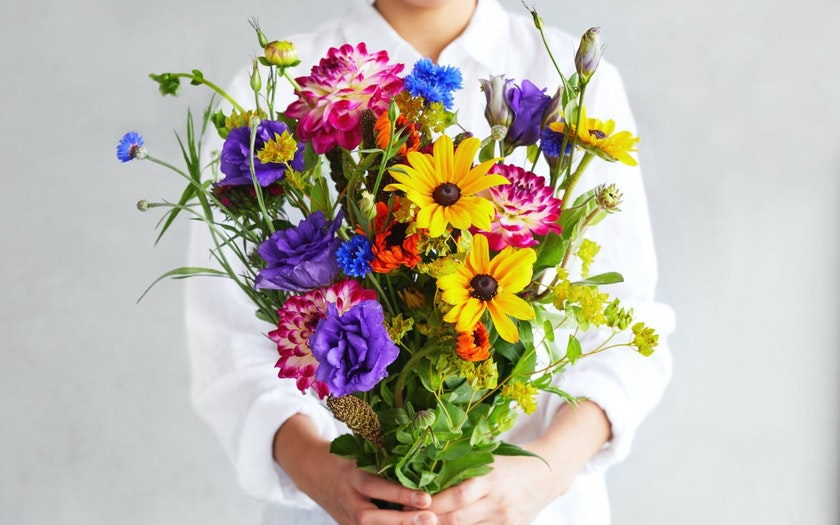 Organic Farm Fresh Mixed Bouquet