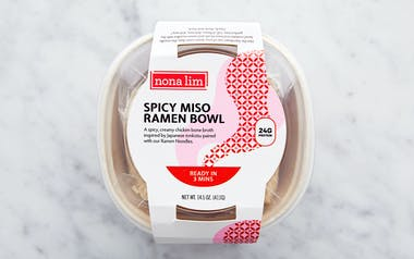 Spicy Chicken Miso Ramen Noodle Bowl