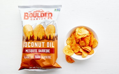BBQ Coconut Oil Potato Chips