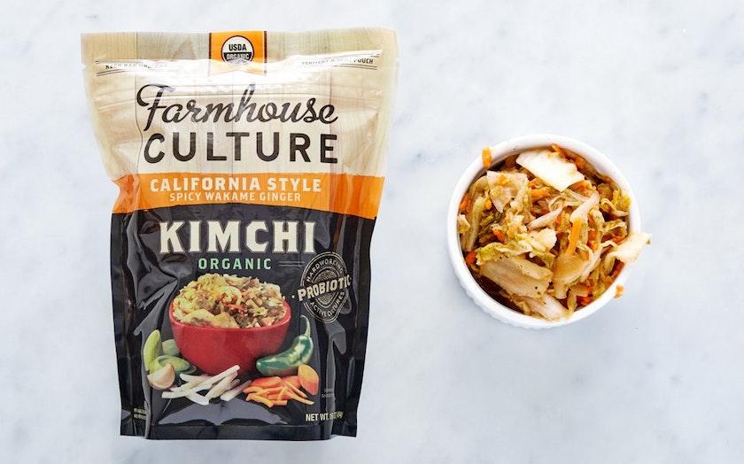 Organic Wakame Ginger Kimchi Farmhouse Culture SF Bay