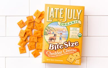 Organic Cheddar Cheese Crackers