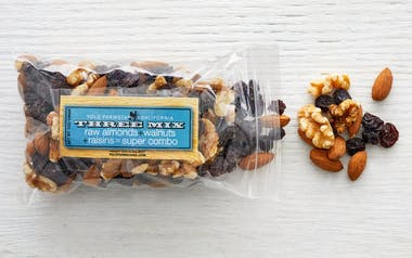 "Almond, Walnut & Raisin ""Three"" Trail Mix"