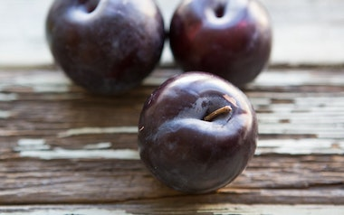 Organic Small Black Splendor Plum Trio