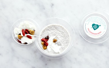 Chia Seed Pudding with Coconut Milk & Superfoods