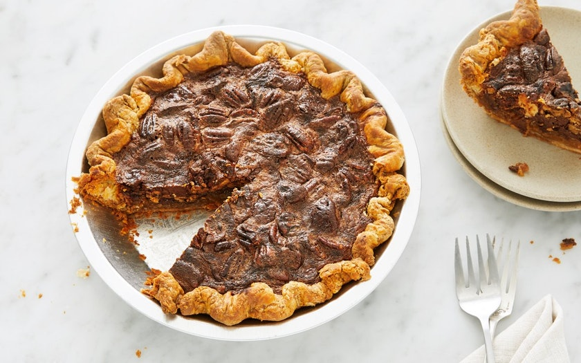 Bittersweet Chocolate Pecan Pie - Black Jet Baking Co ...