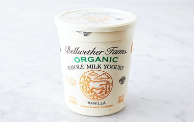Organic Vanilla Whole Milk Yogurt