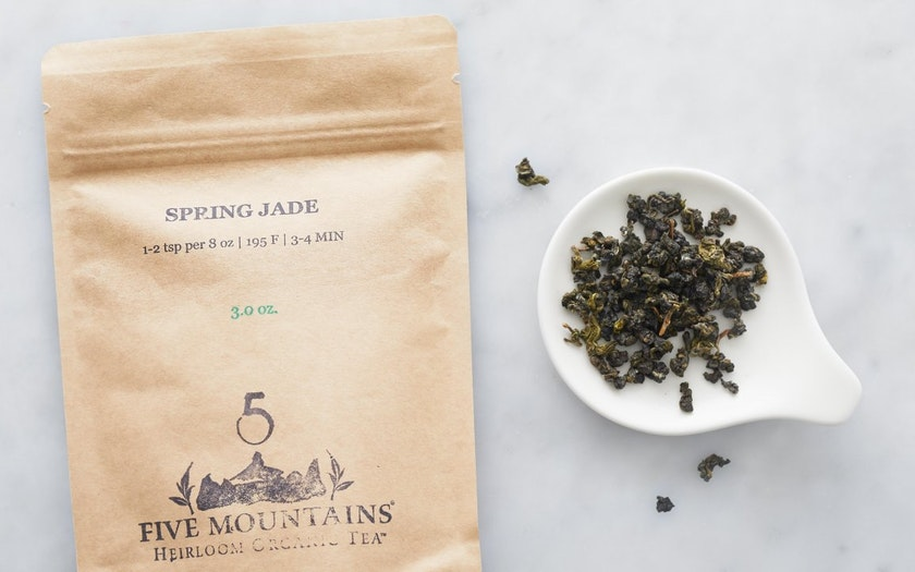 Organic Spring Jade Loose Green Tea