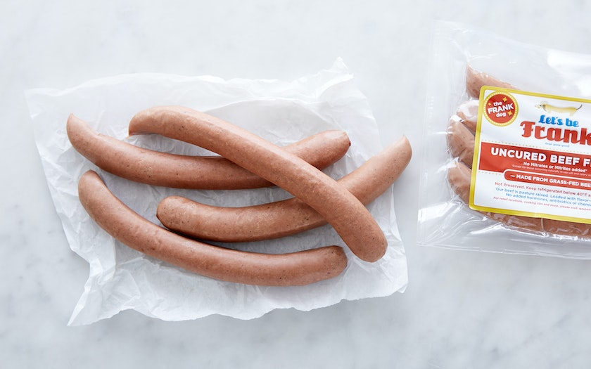 Grass-fed Beef Hot Dog (Frozen)