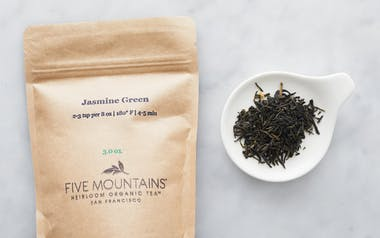 Organic Jasmine Loose Green Tea