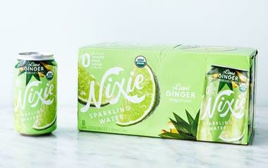 Lime Ginger Organic Sparkling Water
