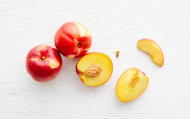 Organic Spring Bright Yellow Nectarine Trio