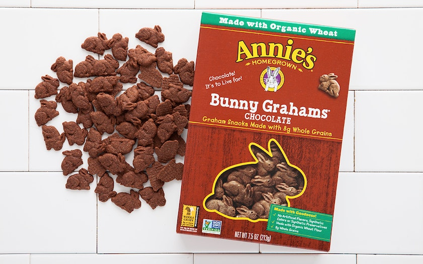 Chocolate Bunny Grahams Snack Cookies