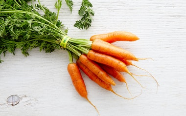 Bunched Baby Carrots